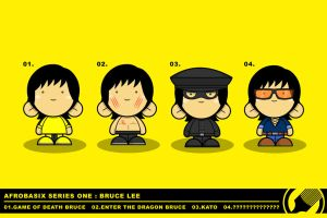 .:: Afrobasix Bruce Lee ::. by Afrochild