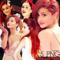 5 PNG de ariana grande,, by onlyexeption-JB