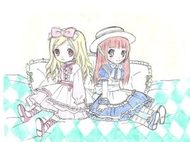 little lolita dolls by Fallheart