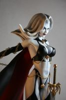 Lady Death, painted 5 by Spanglerart