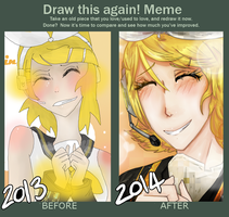 Draw This Again Meme by Rooboid