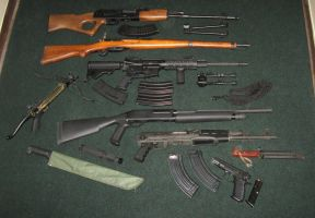 weapons by SS116