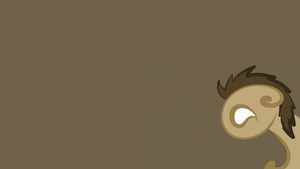 Simplistic Doctor Whooves Background by Teramounger
