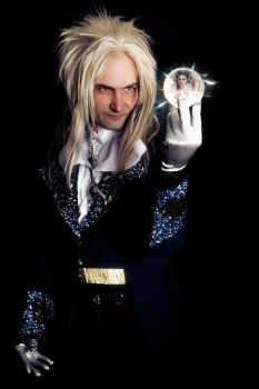 Goblin King Jareth Cosplay by methosivanhoe