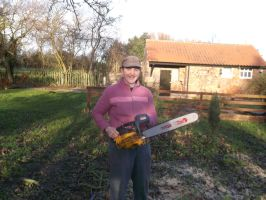 me and a chainsaw by kk20152d