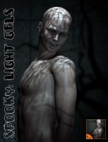 Spooky light gels for poser by ForbiddenWhispers