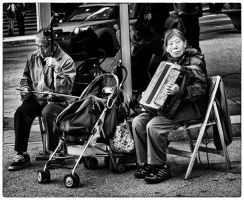 Downtown Street Band by Un-known-Artist