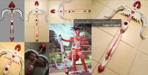 WIP - Heartseeker Vayne Crossbow (Completed) by xXSnowFrostXx
