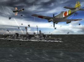 Battle of Pacific by caastel
