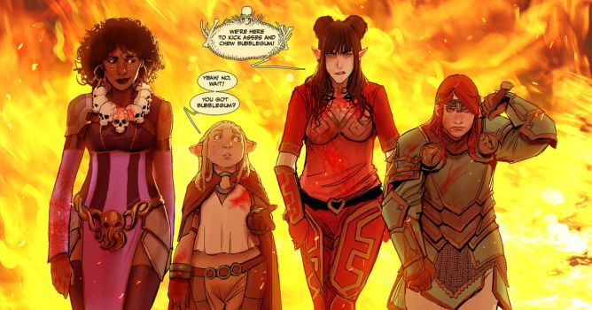 some rat queens test by nebezial