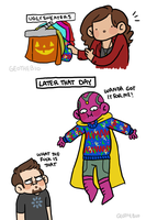 Sweaters by geothebio