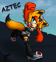 Request - Aztec the Kangaroo by GirGrunny