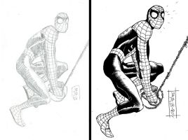 ROMITA JR BEFORE-AFTER by CRUCASE