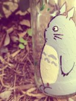 Tonari no Totoro by graffiti-blaze