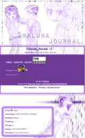 Request Shaluna Journal 8D by DBluver