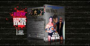 ECW ULTRA CLASH DVD Cover by Golden-City-Saint