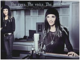 The Eyes, The Voice, The Smile by VampInMask