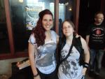 Me with Charlotte at Delain's videoshoot by TheWolfInMe