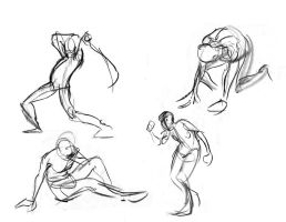 Figure Drawing Book Semester 2 page 11 by 24movements