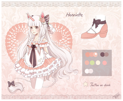 Henriette Reference by Cottoneeh