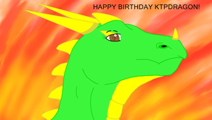 HAPPY LATE BIRTHDAY KTPDRAGON! :D by Penguinanthrogirl99
