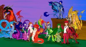 7 sins and dragons colored by firecatshadowof2012