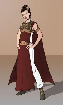 Slave Leia Redesigned by Hyaroo