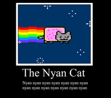 The Nyan Cat by MisakiWalker