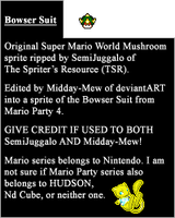 SMW Bowser Suit Item Sprite by Midday-Mew