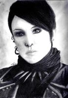 Lisbeth Salander Portrait by studioofmm