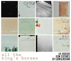 All The King's Horses by lookslikerain