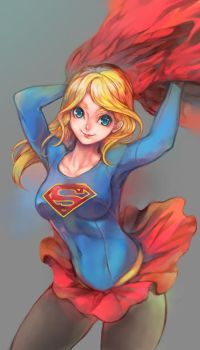 Supergirl Fan Art by dziqker