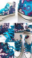 Bacteria shoes by DanishCookie