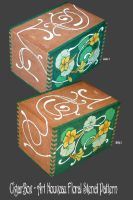 CigarBox - Floral Pattern by BabyGig