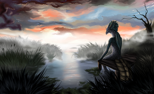Silent morning by Coyrin