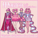 Magica: Magical Girl Couture by thelettergii