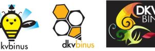 lomba Logo dkv binus - by littlecherry2810