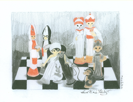 The Chess Community by animeninjaNIPPON