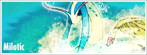 Shiny Milotic Signature by Chocolateblob