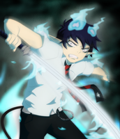 Rin's Fire Rage by NarutoLover6219