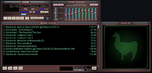 DEFAult winamp Skin marron By EmiLEDESMArg  by EmiLEDESMArg