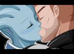 Liara and Shepard by Ninja-8004