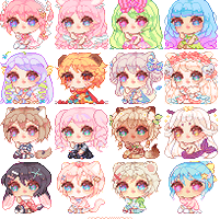 Pixel Icon Batch by Parikyo