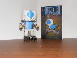 Centuri Paper Toy by IdeatoPaperStudios
