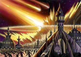 End of Loerem by AlanGutierrezArt