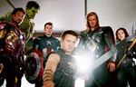 The Avengers final scene (gif) by Marianagmt