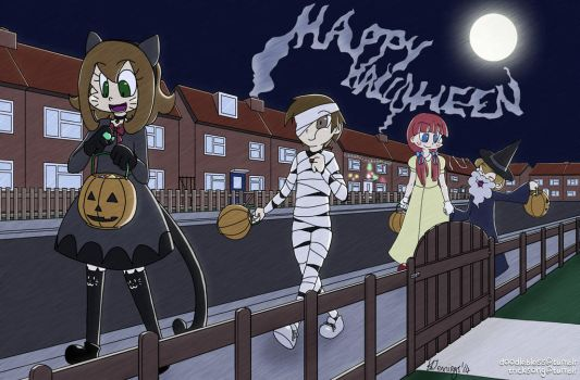 Trick or Treating by AngelBless