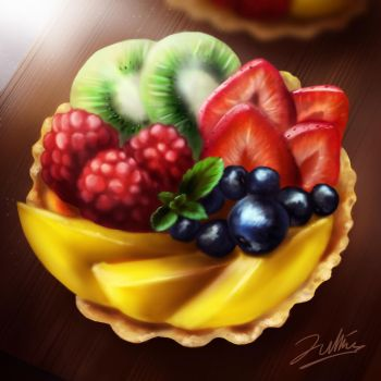 Le Fruit Tart by SpectrumBlaze