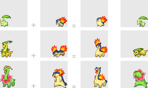 Grass + Fire Starters by mondecolore