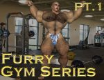 [B3] Shannon Cover [Gym Pt1] [Furry] by Bodybeef